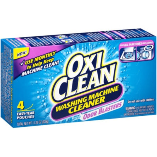 Oxi Clean With Odor Blasters Washing Machine Cleaner