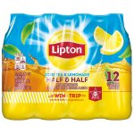 Lipton Iced Tea And Lemonade Half & Half, 16.9 Fl Oz, 12 Count