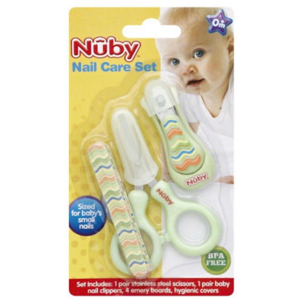 Nuby Grooming Nail Care Set