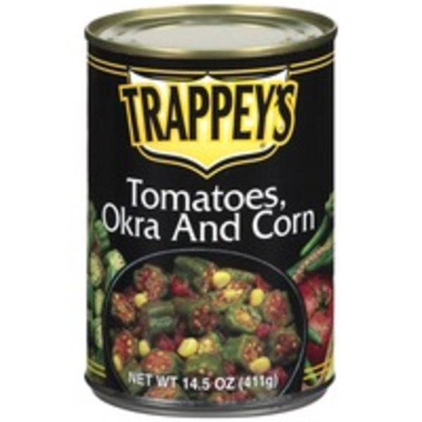 Trappey's Tomatoes/Okra & Corn
