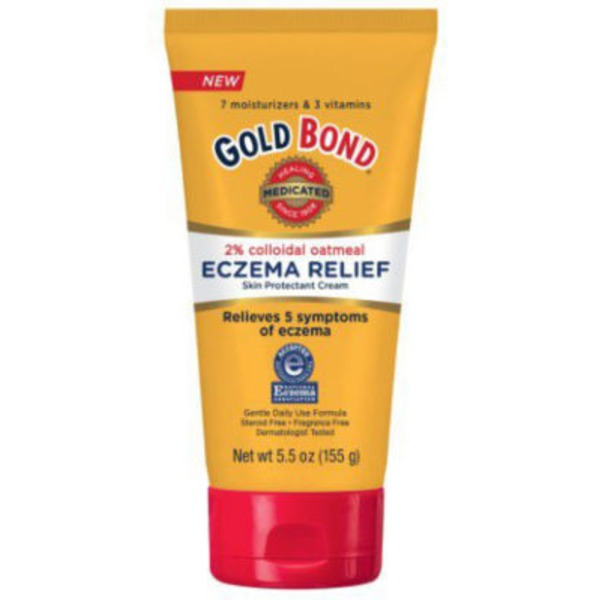 Gold Bond Skin Protectant Cream, Eczema Relief, Tube