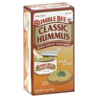Bumble Bee Classic Hummus With Wheat Crackers Ready To Eat