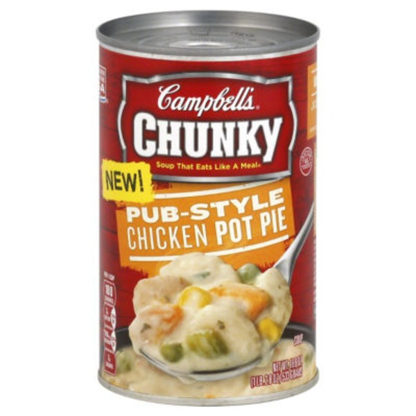 Campbell's Chicken Pot Pie Soup