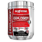 Six Star Pro Nutrition Pre-Workout Explosion Powder, Fruit Punch, 30 Servings