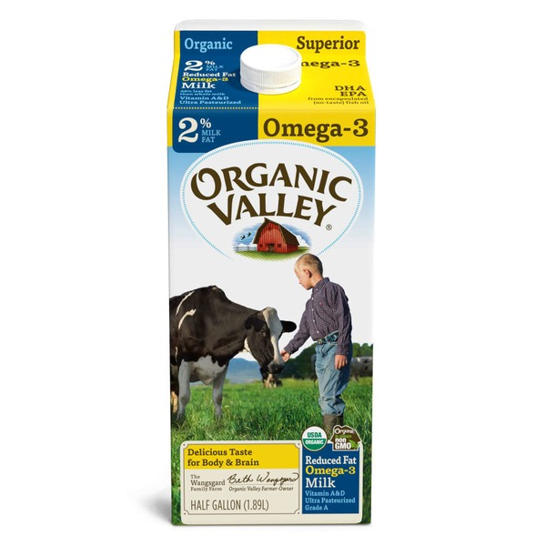 Organic Valley Superior 2% Organic Milk