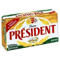 President Salted Imported Butter