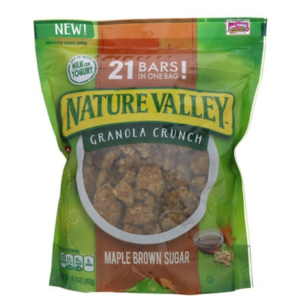 Nature Valley Maple Brown Sugar Granola Crunch
