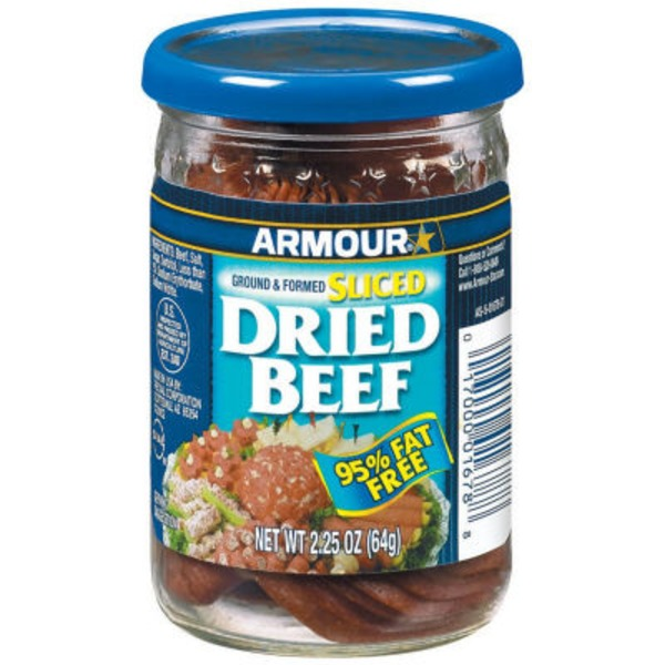 Armour Sliced 95% Fat Free Beef Dried