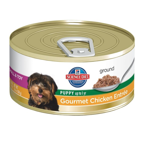 Hill's Science Diet Ground Gourmet Chicken Entree Puppy Food