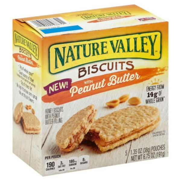 Nature Valley Peanut Butter Biscuits