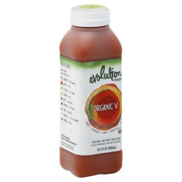 Evolution Fresh Organic V 100% Juice