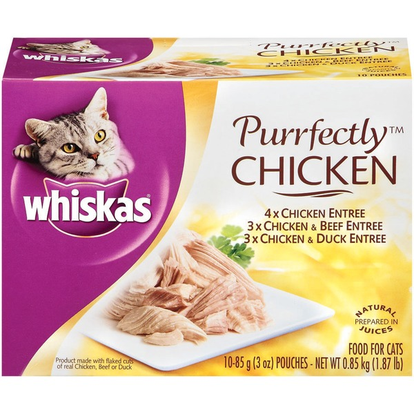 Whiskas Purrfectly Chicken Variety Pack