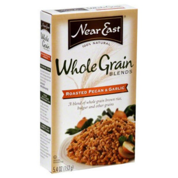 Near East Whole Grain Blends Roasted Pecan & Garlic Rice Mix