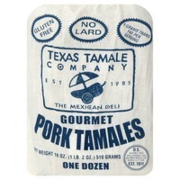 Texas Tamale Company Pork Tamales