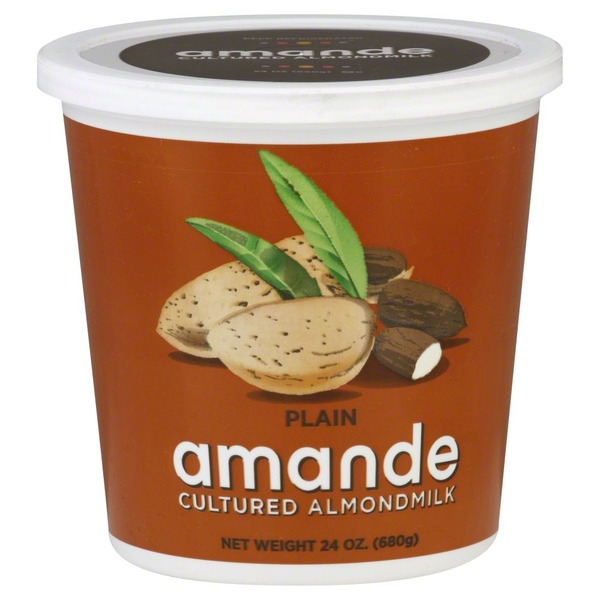 Amande Almondmilk, Cultured, Plain