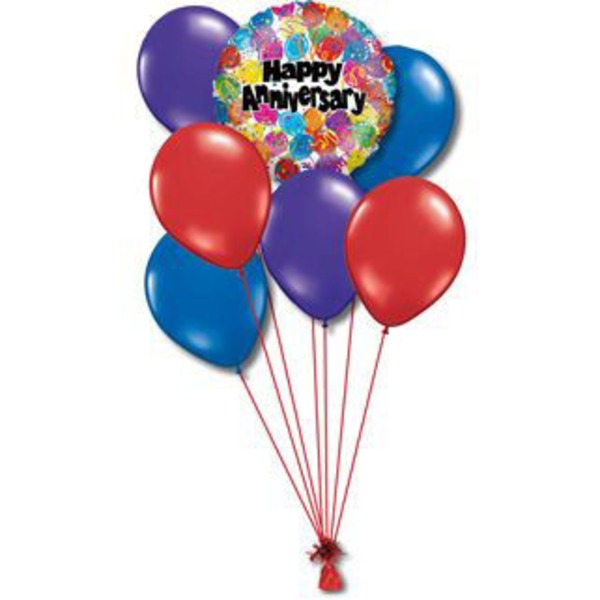 Anniversary Small Balloon Bouquet