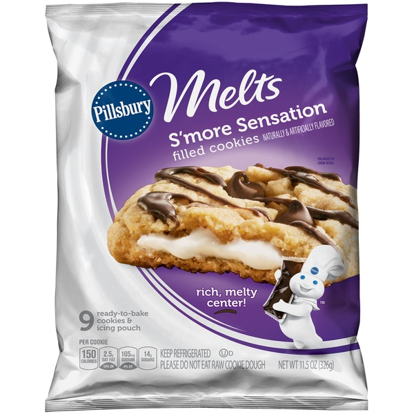 Pillsbury Melts S'more Sensations Cookies