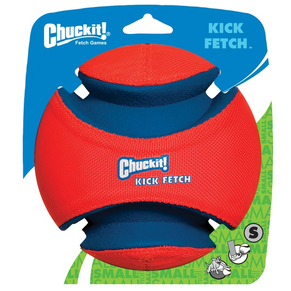 Canine Hardware Chuckit! Kick Fetch Ball Dog Toy Small