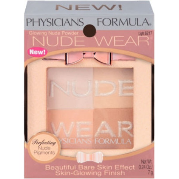 Nude Wear 6217 Glowing Nude Light--6217C Eclat Naturel Clair Powder--Poudre
