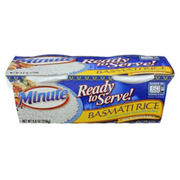 Minute Rice Ready To Serve! Basmati Rice - 2 CT
