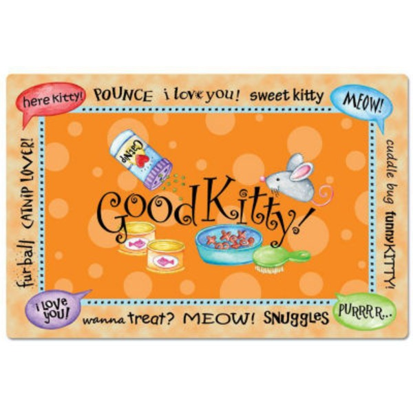 Conimar Good Kitty Pet Placemat