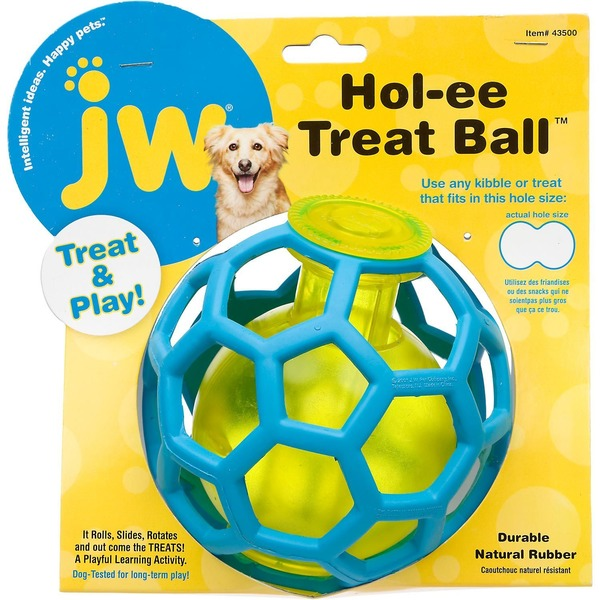 JW Pet Pet Hol-ee Treat Ball Dog Toy
