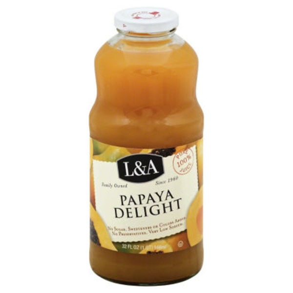 L&A Papaya Delight 100% Juice