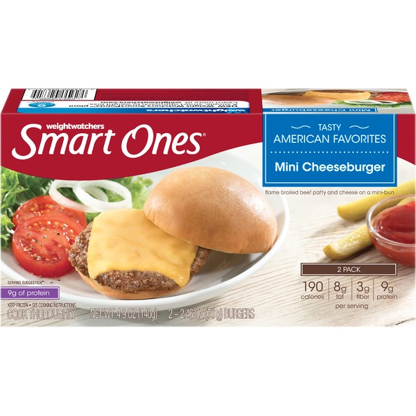 Weight Watchers Mini Cheeseburgers