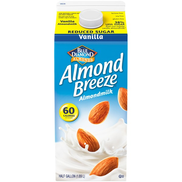 Almond Breeze Almondmilk Reduced Sugar Vanilla Almond Milk