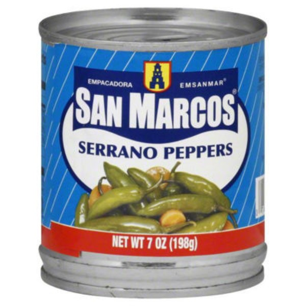 San Marcos Serrano Peppers