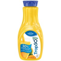 Trop50 No Pulp with Calcium & Vitamin D Orange Juice