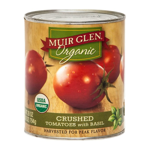 Muir Glen Organic Crushed with Basil Tomatoes