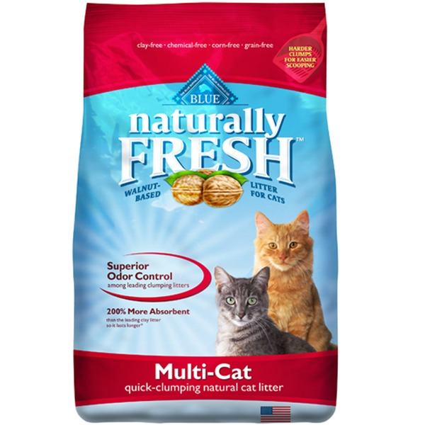 Blue Buffalo Natural Quick-Clumping Multi-Cat Cat Litter