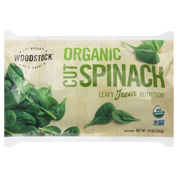 Woodstock Farms Organic Cut Spinach
