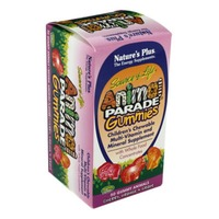 Nature's Plus Source Of Life Animal Parade Children's Multivitamin Cherry, Orange, & Grape Chewable