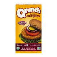 Qrunch Quinoa Burgers - 4 CT