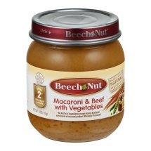 Beech Nut Stage 2 Macaroni & Beef with Vegetables, 4.0 OZ