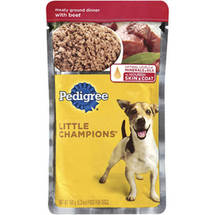 Pedigree Little Champions Meaty Ground Dinner With Beef Wet Dog Food