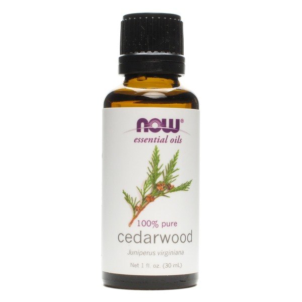 Now 100% Pure Cedarwood Essential Oil
