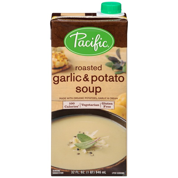 Pacific Roasted Garlic & Potato Soup