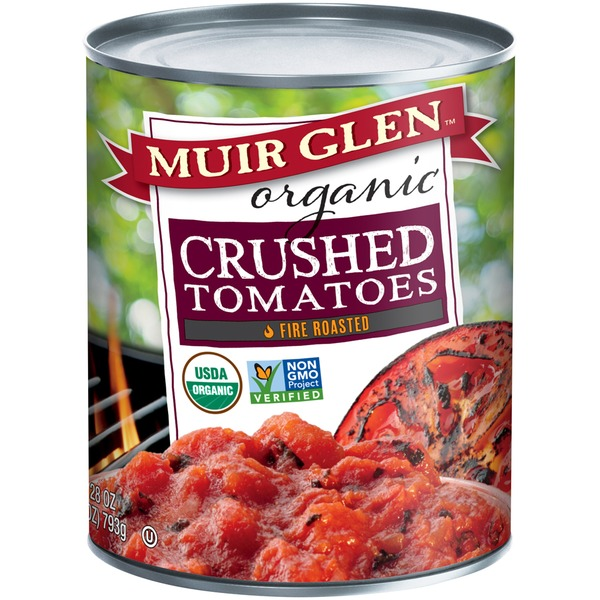 Muir Glen Organic Crushed Fire Roasted Tomatoes