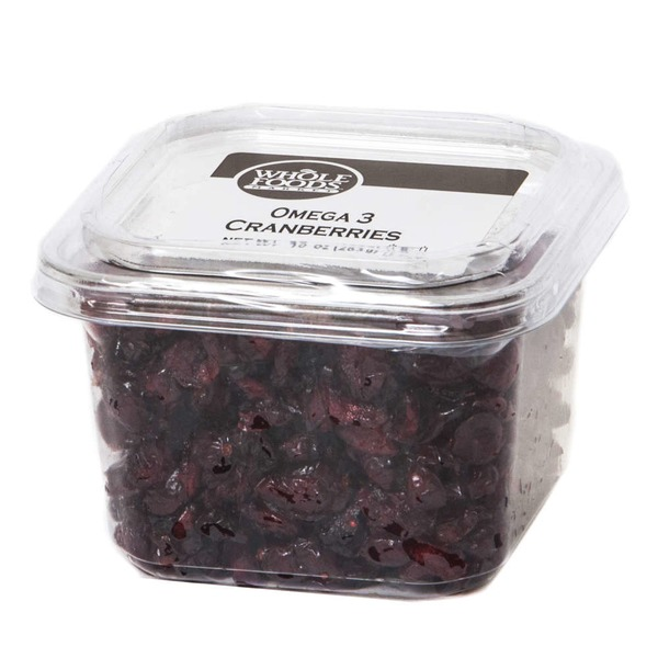 Whole Foods Market Omega-3 Cranberries