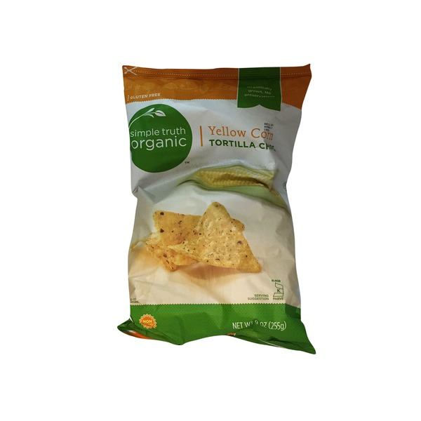 Simple Truth Organic Yellow Corn Tortilla Chips