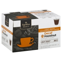 Signature SELECT Coffee Pods Hazelnut Decaffeinated
