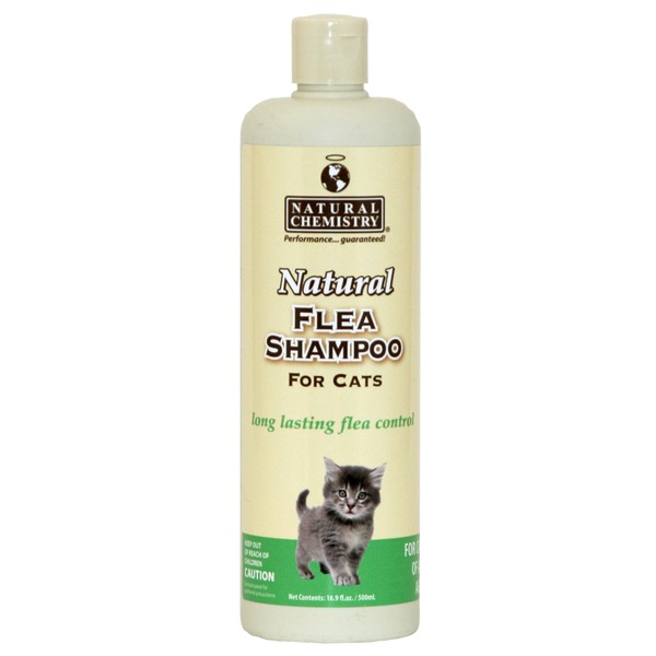 Natural Chemistry Natural Flea Shampoo For Cats of All Ages