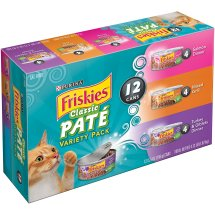 Purina Friskies Classic Pate Cat Food Variety Pack 12-5.5 oz. Cans