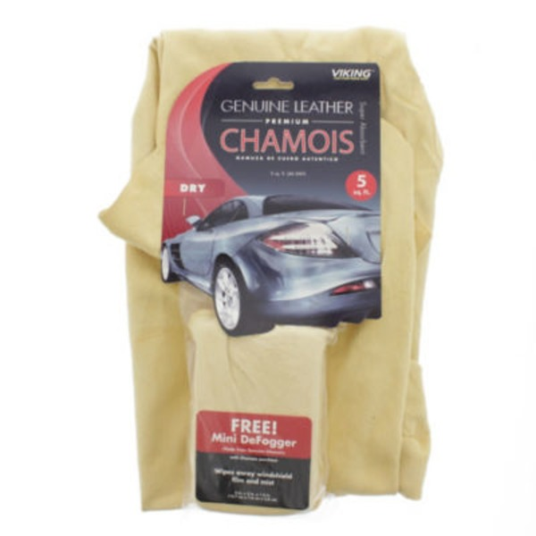 Viking Genuine Leather Premium Chamois