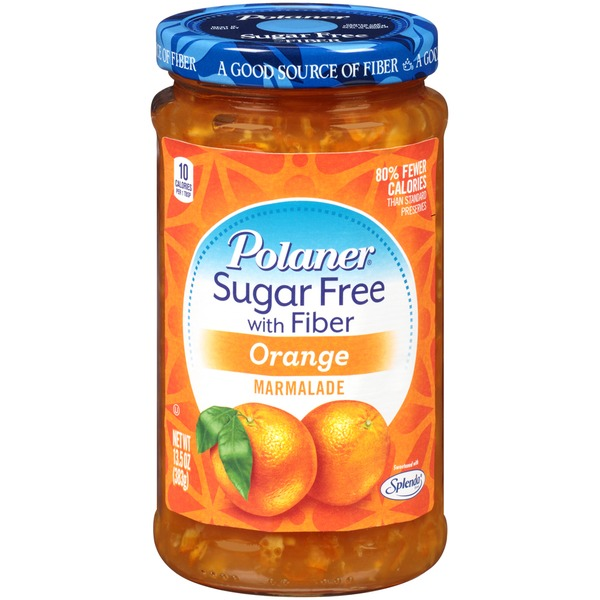 Polaner Orange Sugar Free with Fiber Marmalade