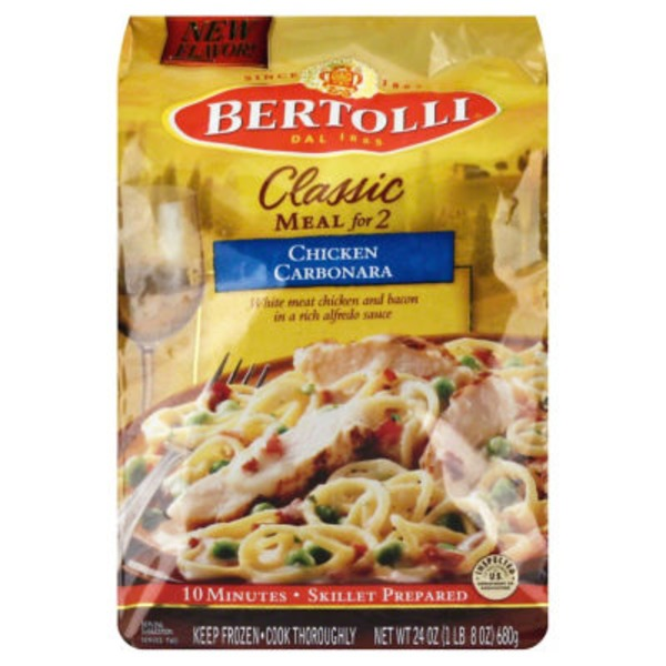 Bertolli Chicken Carbonara Classic Meal For 2