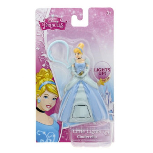 Disney Princess Little Lights Keychain Assorted Varieties